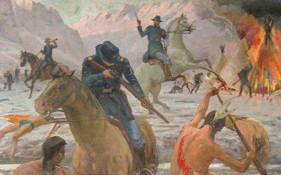 151 rocznica masakry Indian Blackfeet nad rzeką Marias